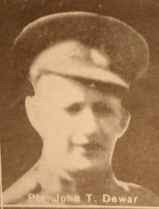 Scan from Memorial Booklet. See cover later in post.