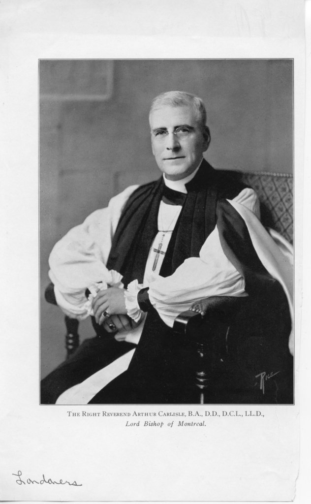 The Righ Reverend Arthur Carlisle