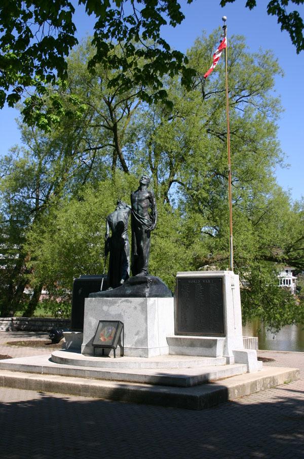 Memorial Gardens, Lakeside Drive, Stratford, Ontario,