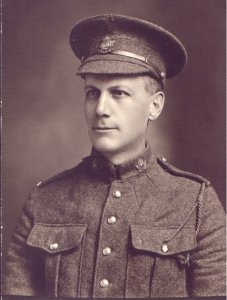 Private David Gray 18th Battalion, Canadian Infantry Western Ontario Regiment November 23, 1916
