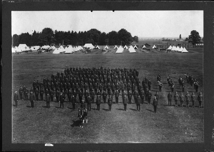 32nd Bruce Regiment about 1910