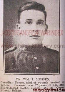 Photo of Pte. Mussen. Source: SASH Group on Facebook.