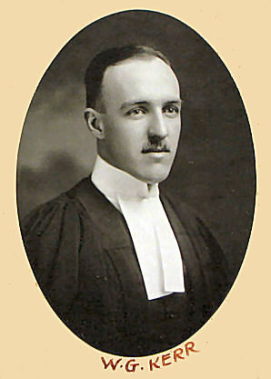 Photograph of William George Kerr (1894-1951)