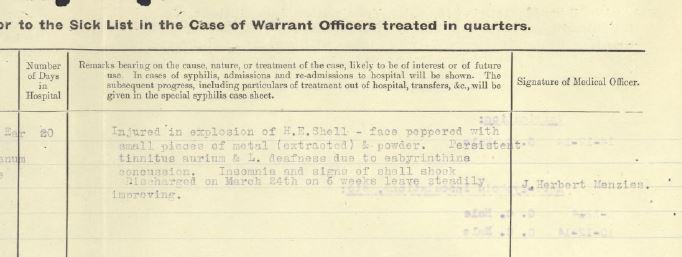 Description of Wound