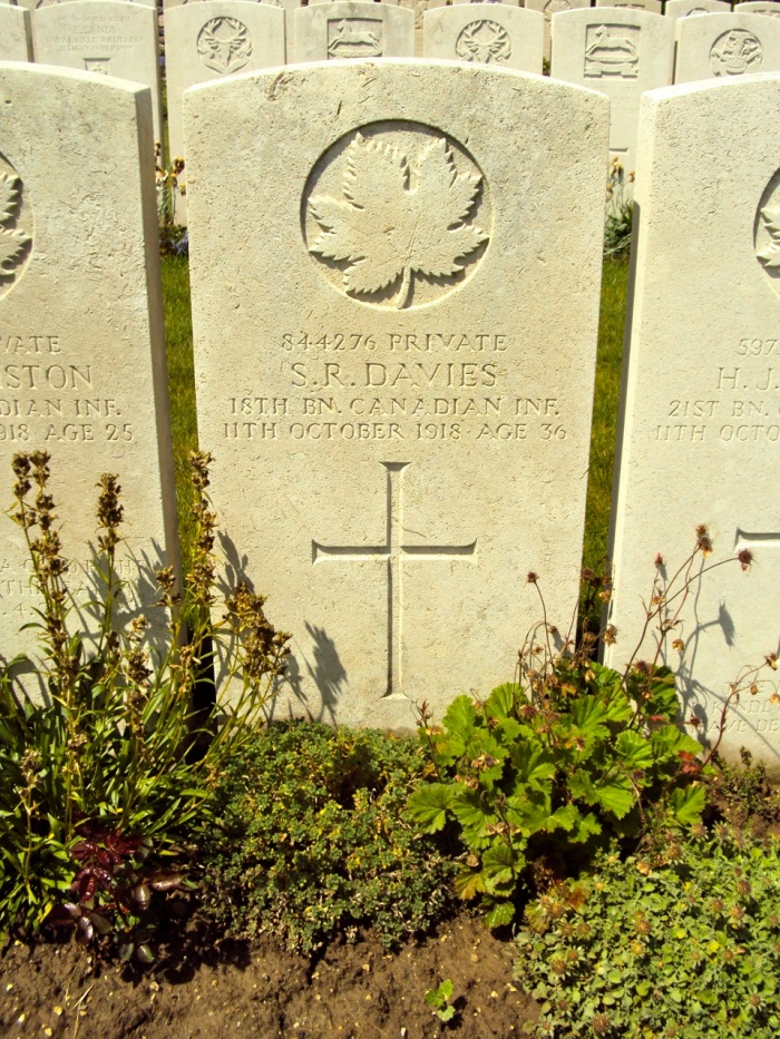 Niagara Cemetery Iwuy Departement du Nord Nord-Pas-de-Calais, France Plot: C. 26.