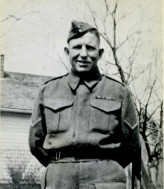 Albert Earl Bishop served in both World Wars for the Canadian Army.