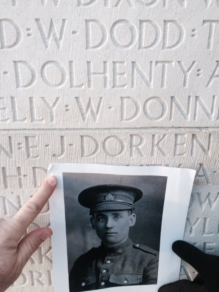 dustin-picture-of-private-dorken-at-vimy-ridge
