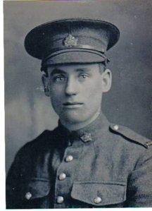 Private Ernest John Dorken of 292 Admiral Street, Woodstock, Ontario.