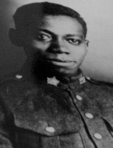 James Jacobs was a Windsor postman who joined the 18th Battalion during the First World War. (Photo courtesy of the North American Black Historical Museum.)