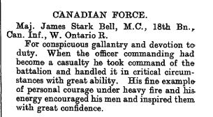 The London Gazette Publication date:10 January 1919 Supplement:31119Page:586