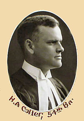 Harold Alexander Colter, Law Society of Canada
