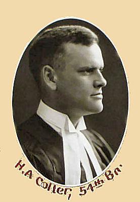 Harold Alexander Colter, Law Society of Canada