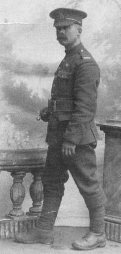 Private Frank Higgins, 18th Battalion, C.E.F.