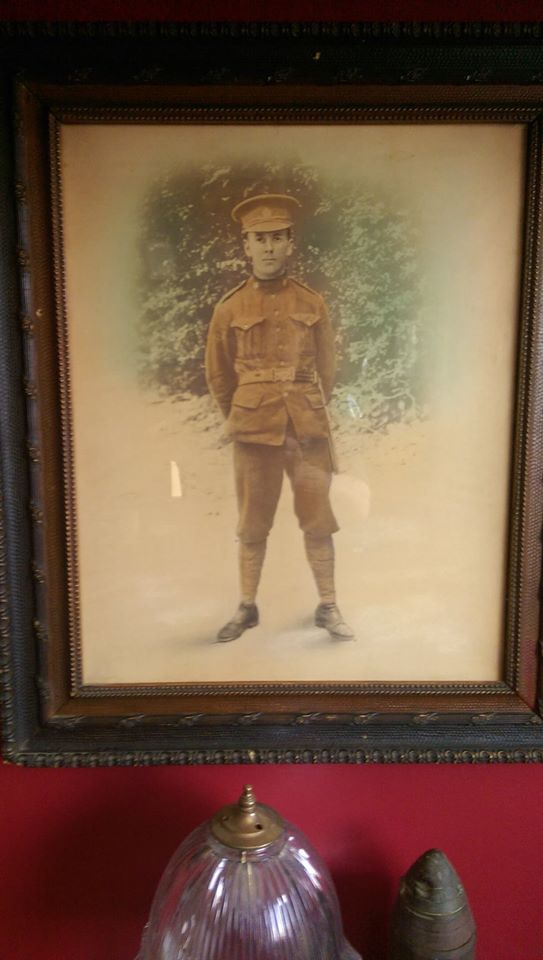 "Picture of Private Archibald Ambrous, reg. no. 53994 courtesy of ""Rusty Nuts"" from the 18th Battalion Facebook Group. From his personal collection."