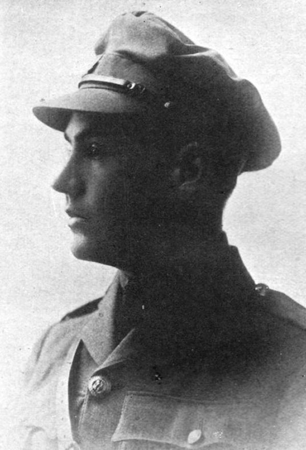 Photo of Donald Ryerson MacDonald – Lt. Donald Ryerson Macdonald, 18th Battalion, Royal Canadian Regiment Killed in action August 16, 1917, at 19 years of age. Born in Toronto, Macdonald was one of Appleby's original students, having followed founding Headmaster John Guest from Upper Canada College. He played on the First Rugby (Football), Hockey and Cricket teams, won the Victor Ludorum Trophy in 1915, and earned admission to the University of Toronto. He was commissioned a Lieutenant in the Thirty-fourth Regiment, Canadian Militia, but reverted to the ranks twice in an effort to reach France. On arrival in England he was promised a commission in the Surrey Regiment; he took his course, but could not be gazetted because he was under age. He went to France as a private soldier in the Trench Mortar Battery of the Fourth Brigade, and after nine months in the trenches, was promoted Lieutenant in the field. He was killed by a bomb while reconnoitering ground in front of a newly-won position in the outskirts of Lens. From the Appleby College archives.