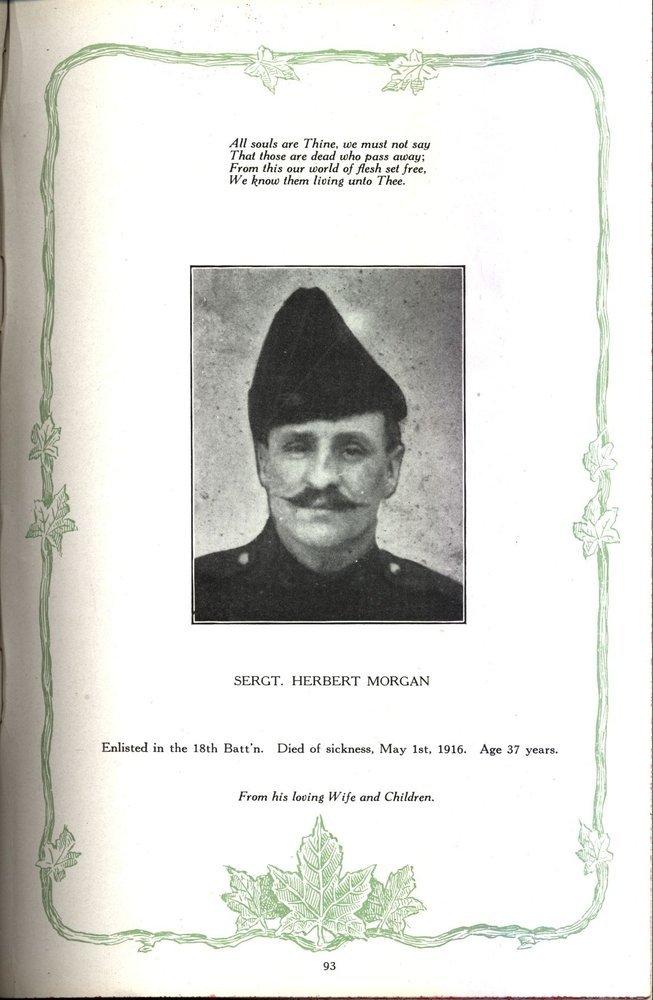 Sgt. Herbert Morgan