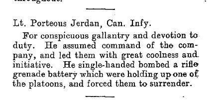 Source: Supplement to the Edinburgh Gazette, July 1917, page 1429
