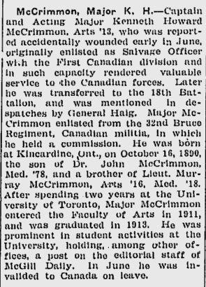 McGill Daily Oct 1 1917