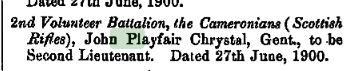 The London Gazette June 26 1900 page 3973