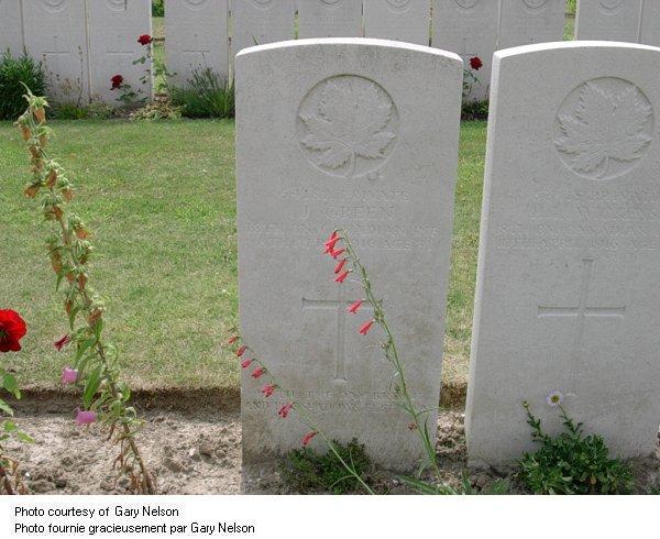 Gravemarker Joseph Green