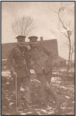 Sam Loghrin and half brother Cpl. Donald Monteith Jeffrey