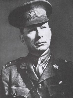Lieutenant H.W. McBride Source: 21stbattaion.ca