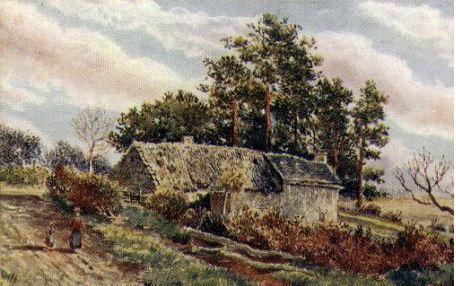 Hanging Green Cottage where AJ Sharples lived