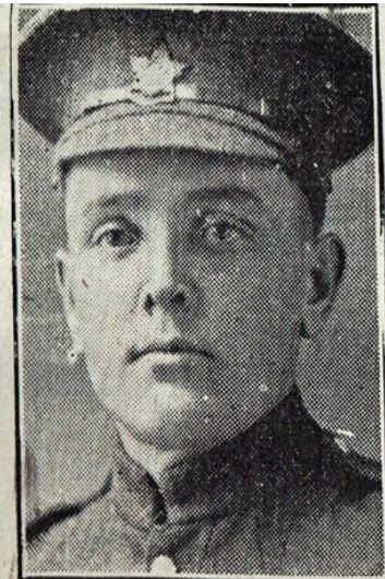 Private Whitney Glen Robertson. Source: Kent Branch of the O.G.S.