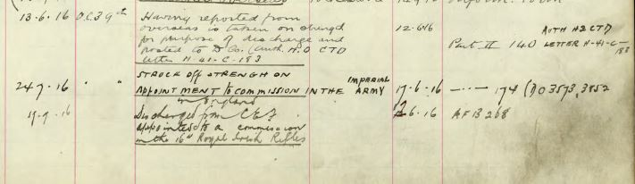 Service Record Detail