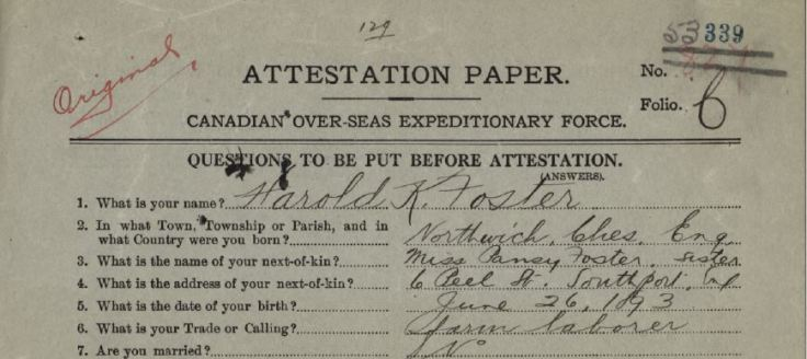 discrepany in trade on attestation paper 1