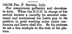The London Gazette Publication date: 18 October 1918 Supplement: 30961 Page: 12385