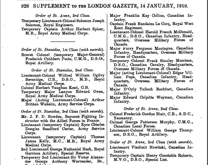 London Gazette 1