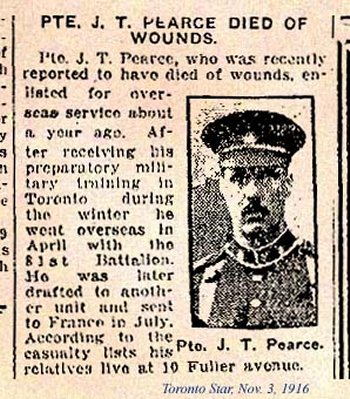 Pte. James Thomas Pearce Source: CVWM
