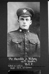 Private Harold Riley