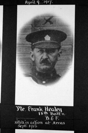 Pte. Francis Healey. Source: