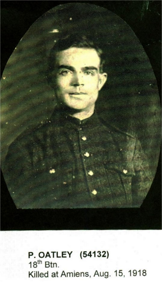 Sergeant Percy Oatley. Source: CVWM