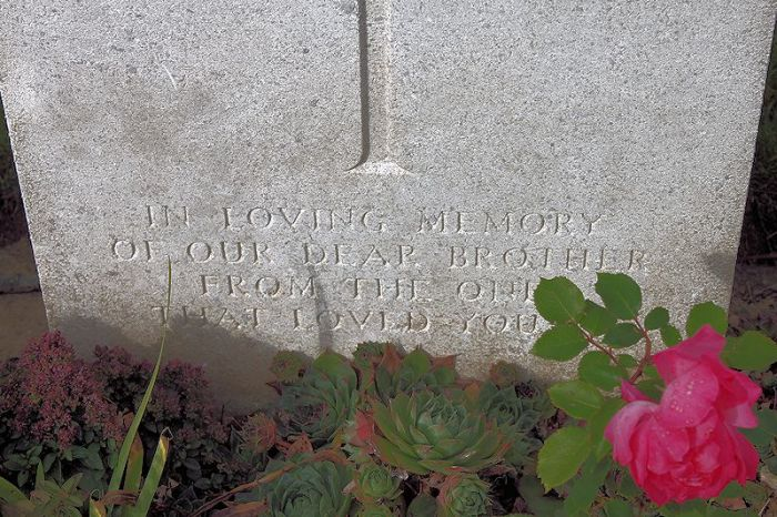 Inscription – Inscription (John & Anne Stephens 2013). Source: CVWM