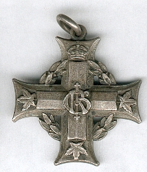 Memorial Cross GR V – Memorial Cross issued to mother or wife. Source: CVWM