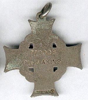 Memorial Cross GR reverse. Source: CVWM