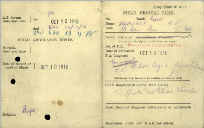 babcock-field-medical-card-outside
