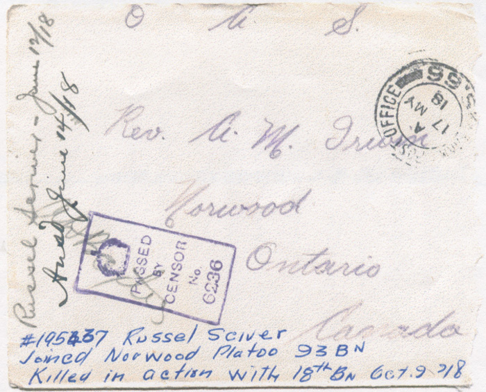 Envelope. Source: VIU Canadian Letters & Images Project