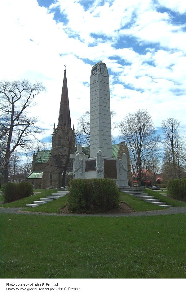 Fredericton War Memorial. Source: CVWM