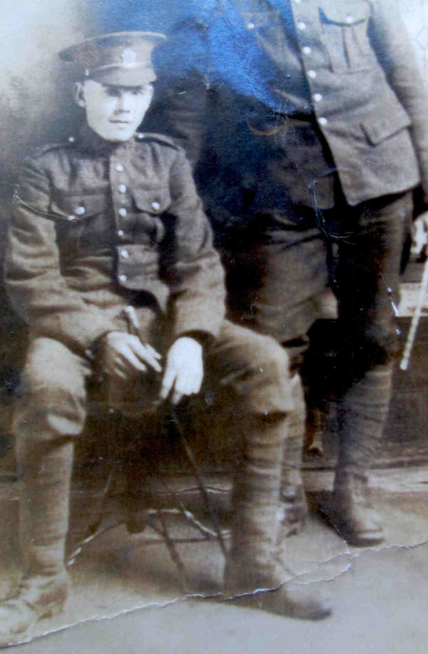 Photo of Joshua Watts – J. (Joshua) Watts Died September 15, 1916 France. Source: CVWM
