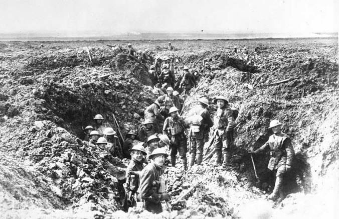 Canadians consolidate their positions on Vimy Ridge in April, 1917. MIKAN no. 3521877/Canada. Dept. of National Defence, Library and Archvies Canada