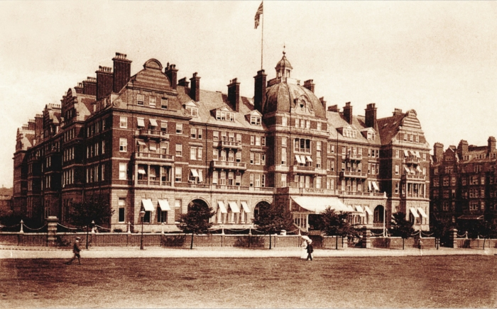 The MetroPole Hotel, Folkestone, Kent. 1915 Post card via Mike Dugdale.