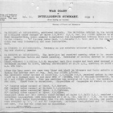 19th Battalion War Diary for August 1, 1918