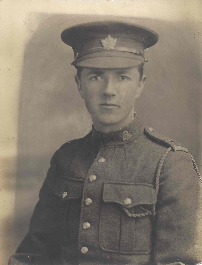 Photo of Percy John Ransom – Percy Ransom in uniform. Source: CVWM