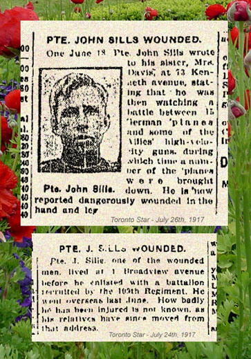 Born Waterdown Ontario. Prev service with 12th York Rangers. August 9, 1915, Toronto. Source: CVWM