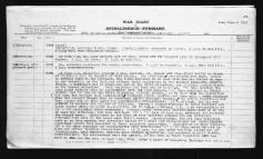 18th Battalion War Diary describing action on August 26, 1918.