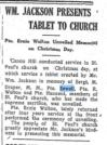 Clinton News Era December 26, 1918 Page 1 Guy Blanchard Sewell